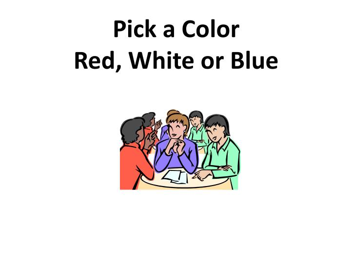 Pick a Color