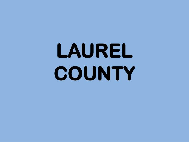 LAUREL COUNTY
