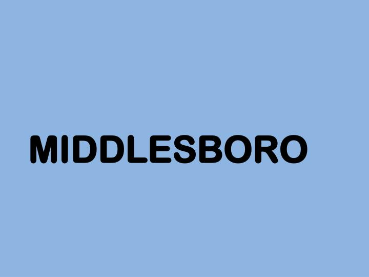 middlesboro