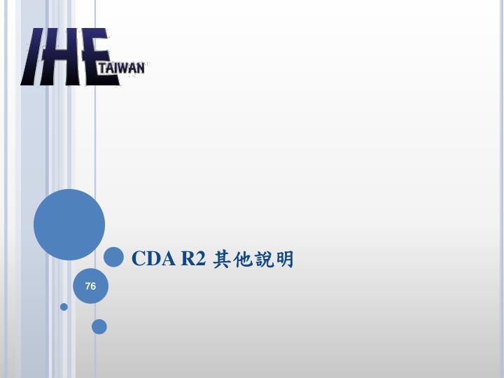CDA R2