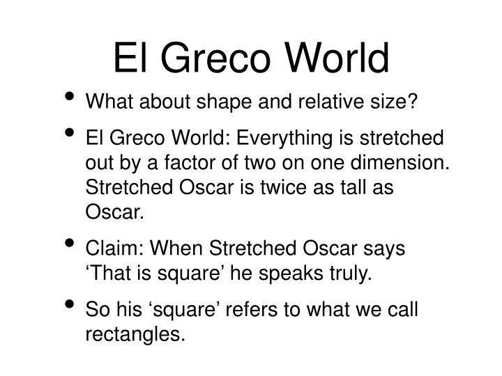 El Greco World