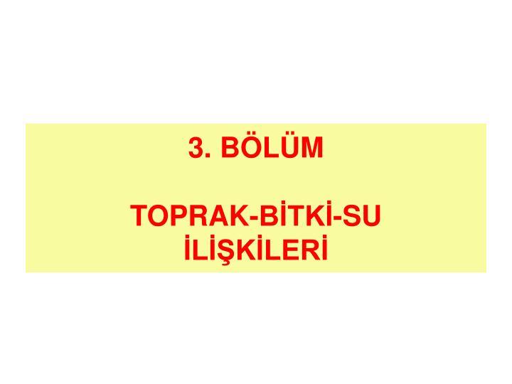 3. BÖLÜM