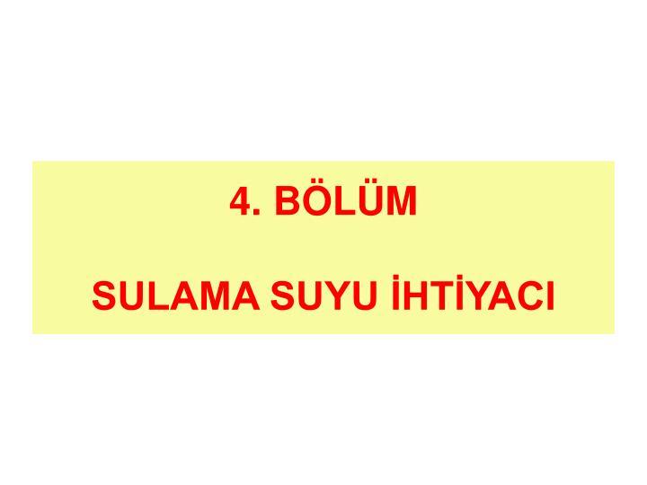 4. BÖLÜM