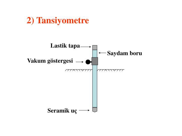 2) Tansiyometre