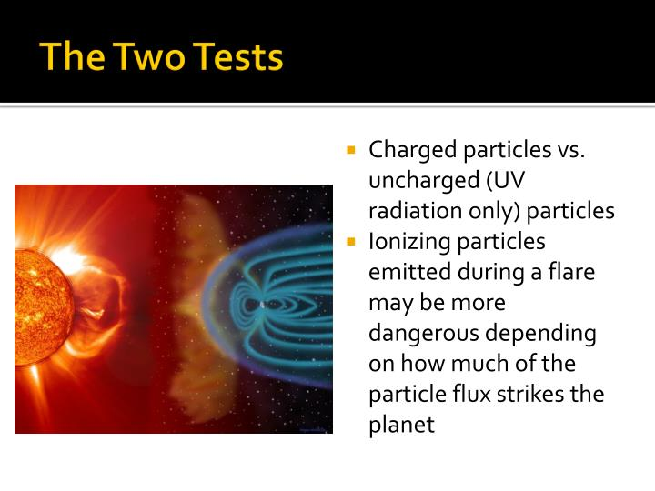 The Two Tests
