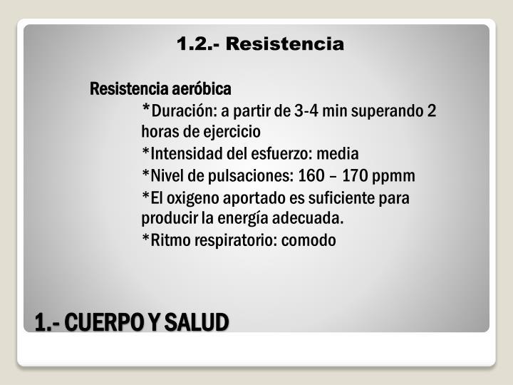 1.2.- Resistencia