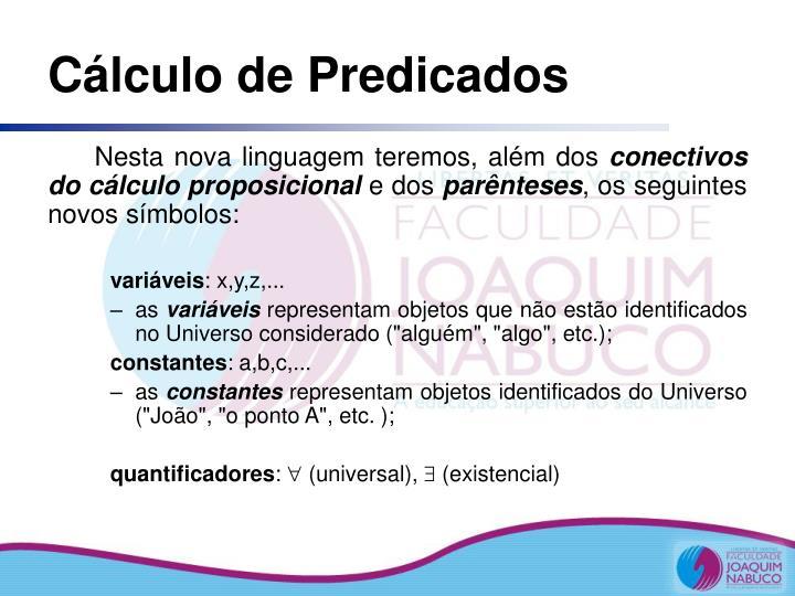 Cálculo de Predicados