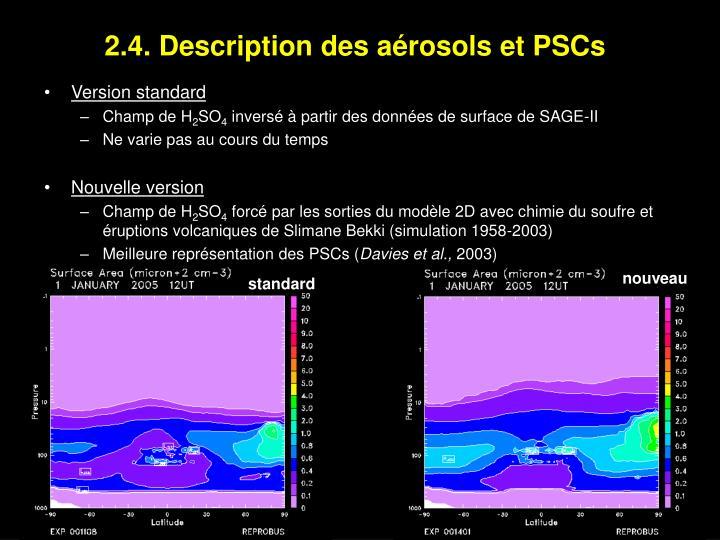 2.4. Description des aérosols et PSCs