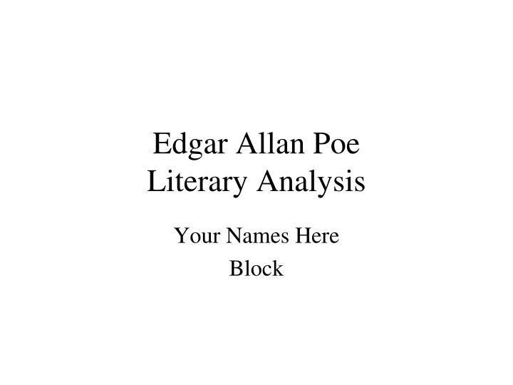 a literary analysis of allan bloom The closing of the american mind, allan bloom, saul bellow,9780671657154, book, 1988 paperback 45 out of 5 stars - the closing of the american mind, allan bloom, saul bellow,9780671657154, book.
