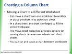 creating a column chart5