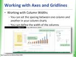 working with axes and gridlines5