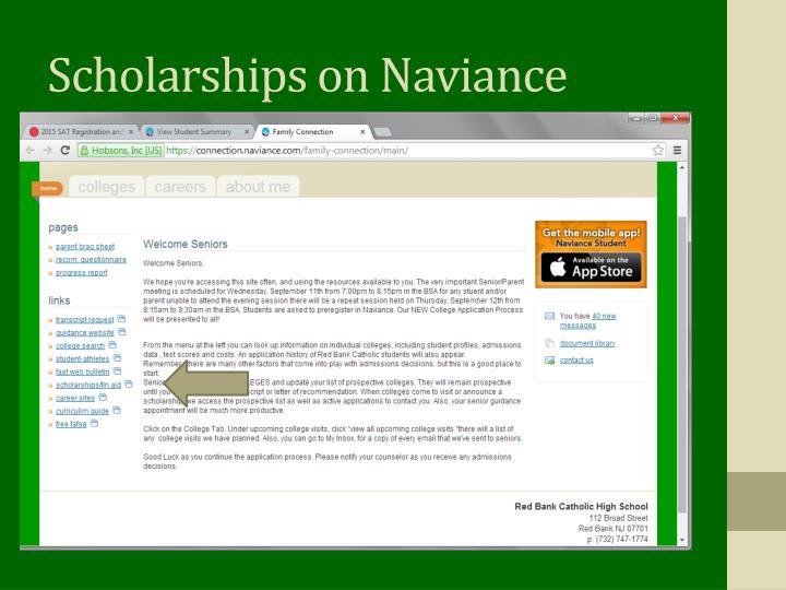 Scholarships on