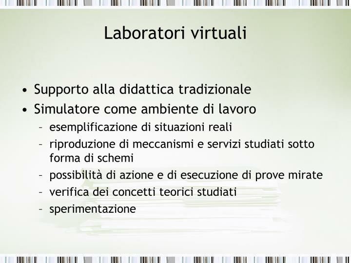 Laboratori virtuali