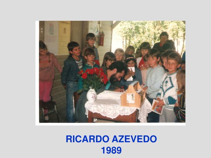 RICARDO AZEVEDO 1989