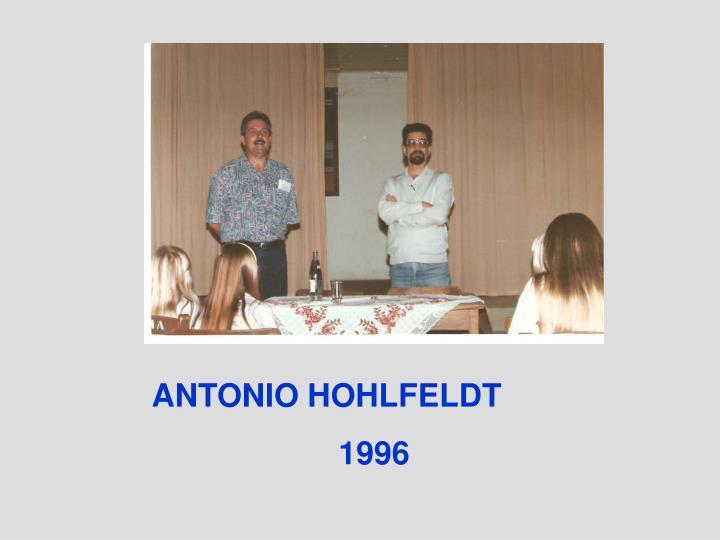 ANTONIO HOHLFELDT