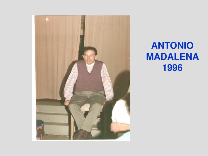 ANTONIO MADALENA 1996