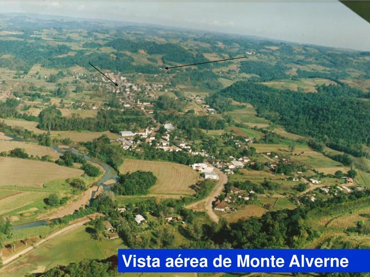 Vista aérea de Monte Alverne