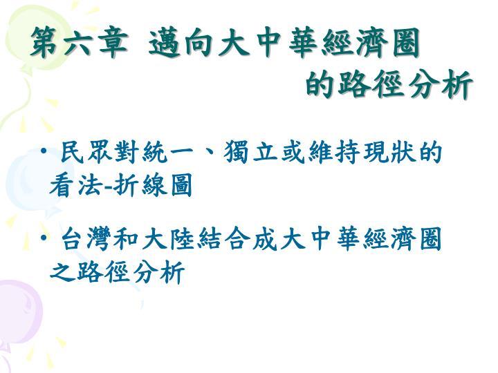 第六章 邁向大中華經濟圈