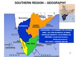 southern region geography