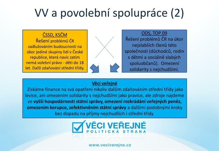VV a povolební spolupráce (2)
