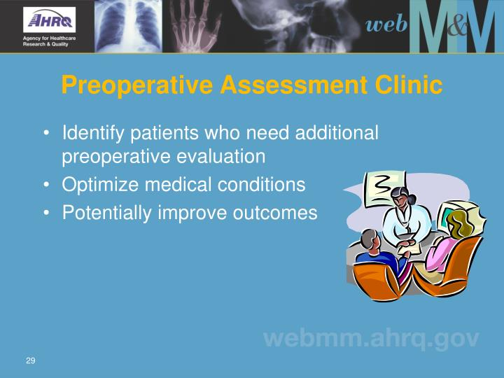 Preoperative Assessment Clinic