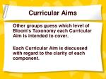 curricular aims10