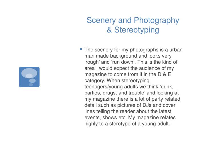 Scenery and Photography