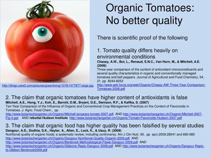 Organic Tomatoes: