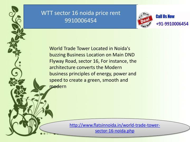 WTT sector 16