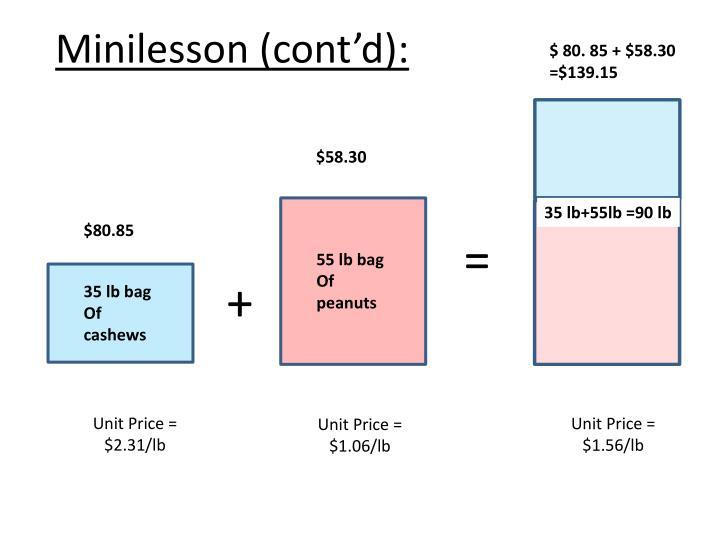 Minilesson