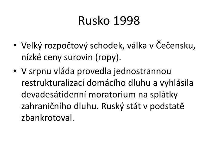 Rusko 1998