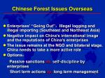 chinese forest issues overseas