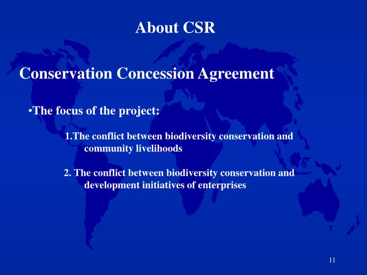 About CSR