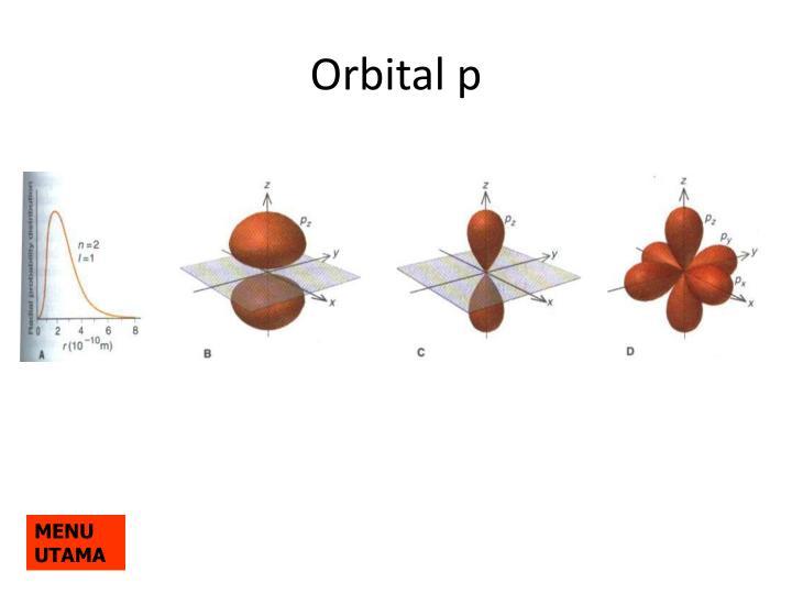 Orbital p