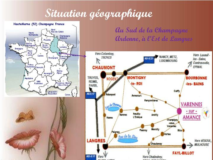 Situation g ographique