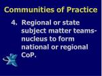 communities of practice6