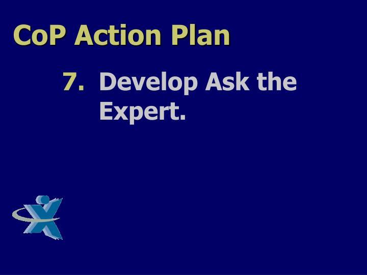 CoP Action Plan