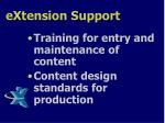 extension support2