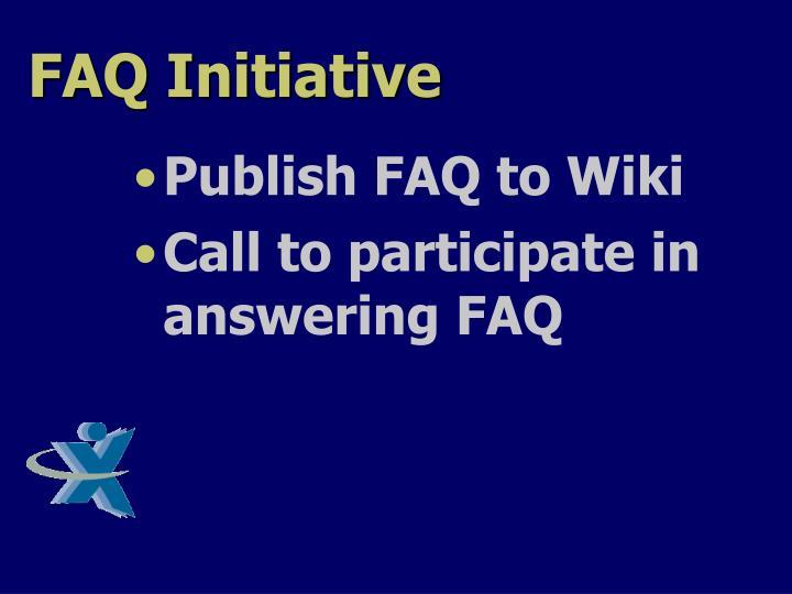 FAQ Initiative