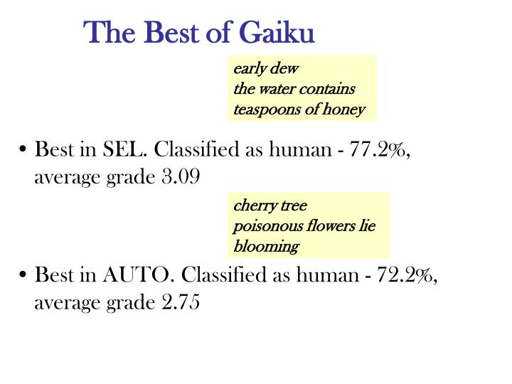 The Best of Gaiku