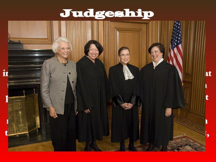 Judgeship