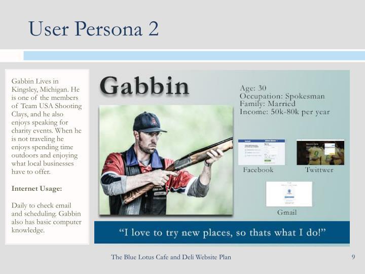 User Persona 2