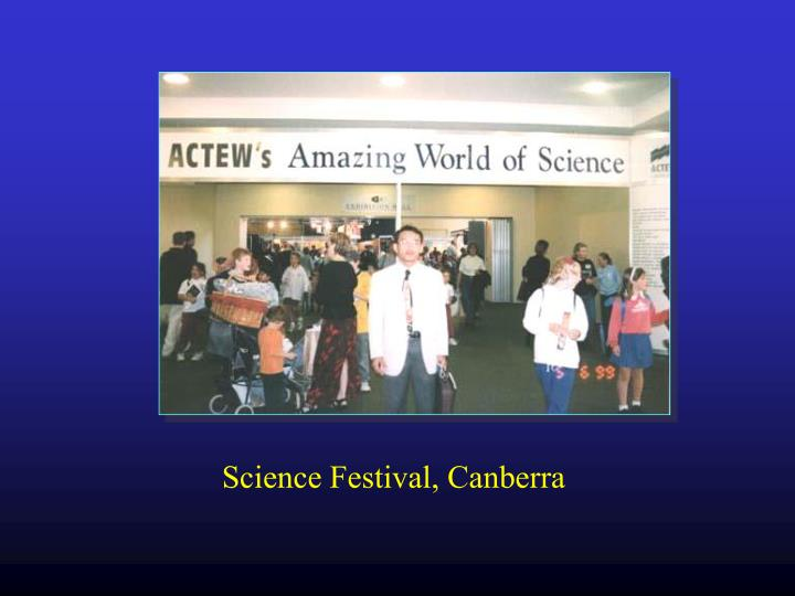 Science Festival, Canberra