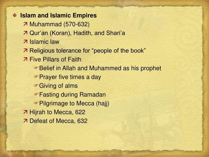 Islam and Islamic Empires