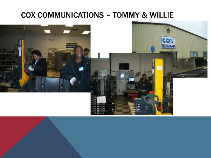 Cox communications – Tommy & Willie
