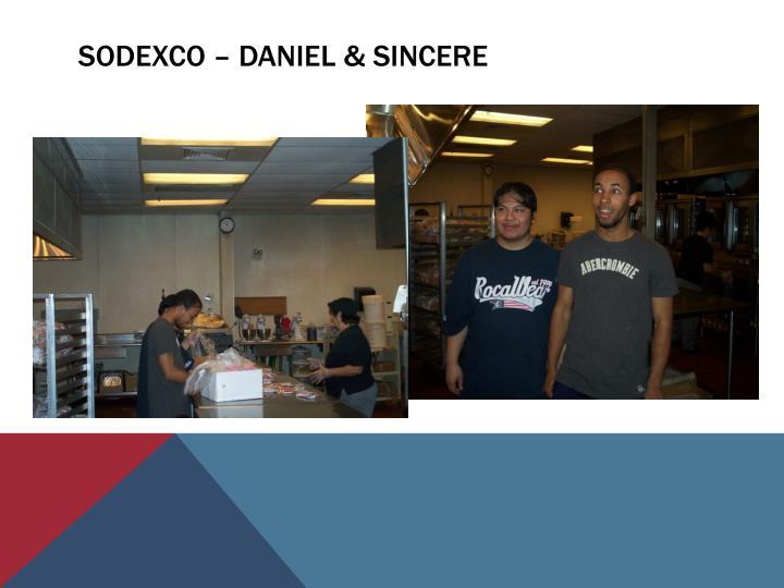 Sodexco – Daniel & sincere