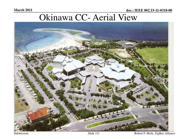 Okinawa CC- Aerial View