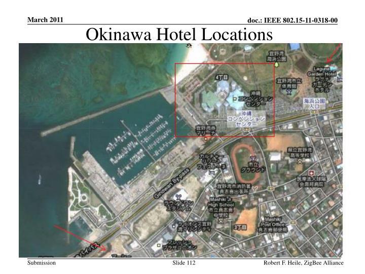 Okinawa Hotel Locations