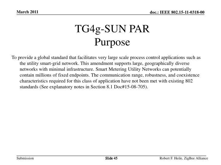 TG4g-SUN PAR