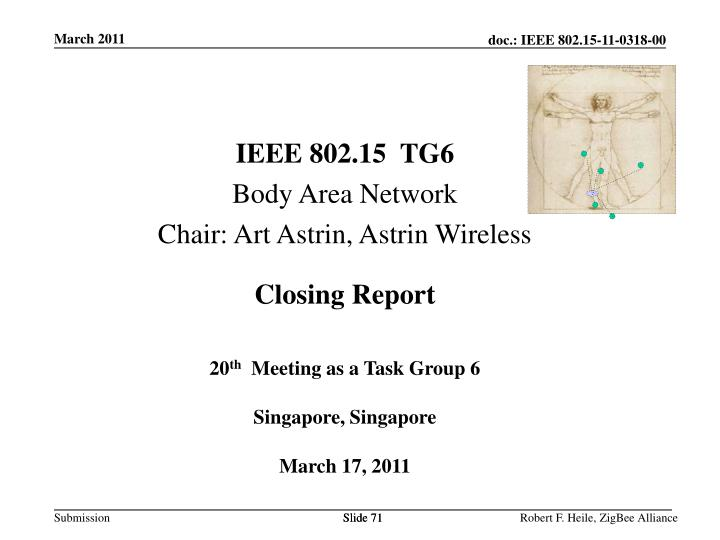 IEEE 802.15  TG6
